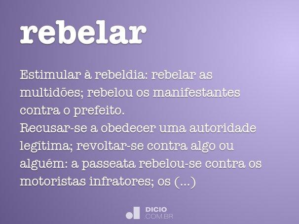 rebelar
