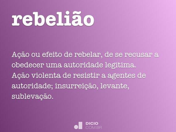 rebeli�o