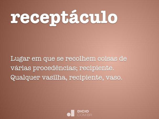 recept�culo