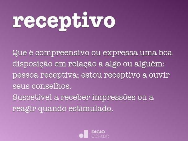 receptivo