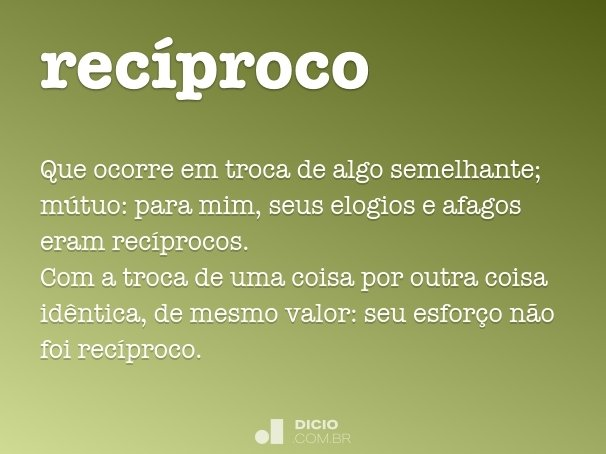 rec�proco
