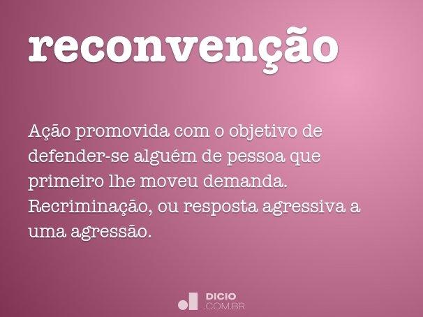 reconvenção