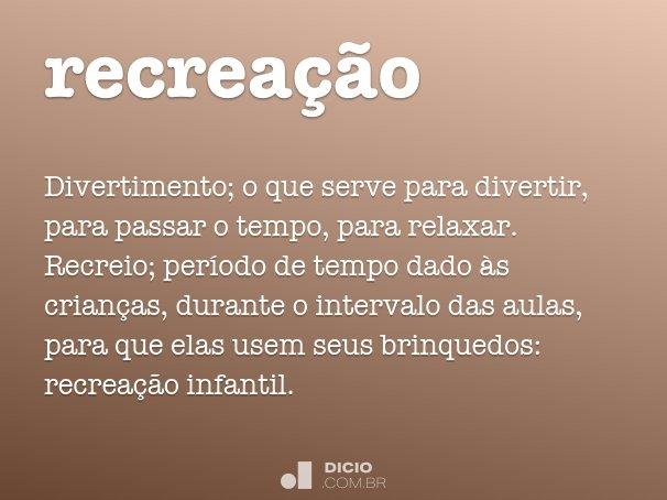 recrea��o