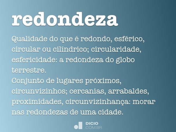 redondeza