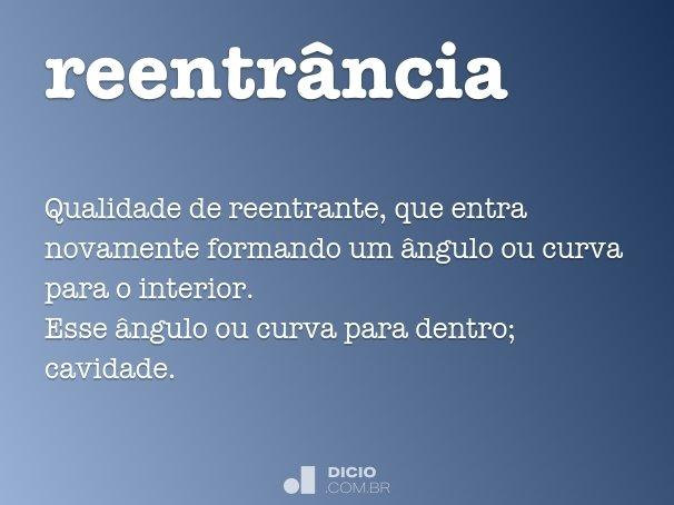 reentr�ncia
