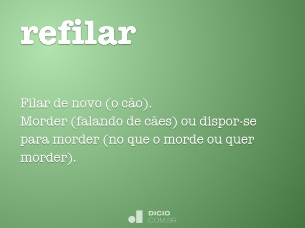 refilar