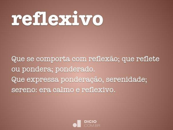 reflexivo