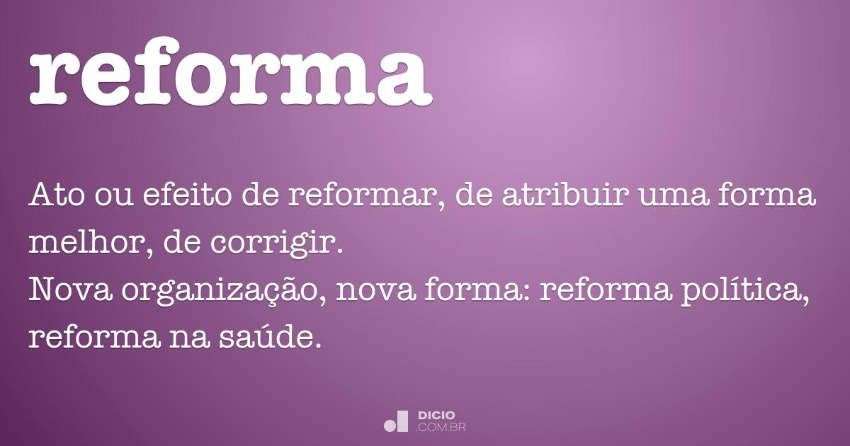 reforma dicio dicion rio online de portugu s