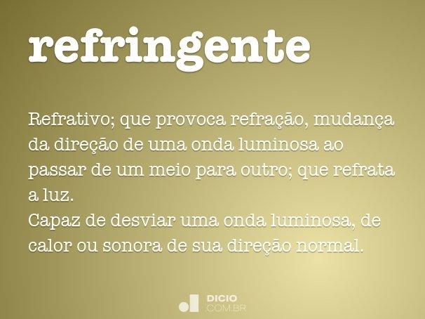 refringente