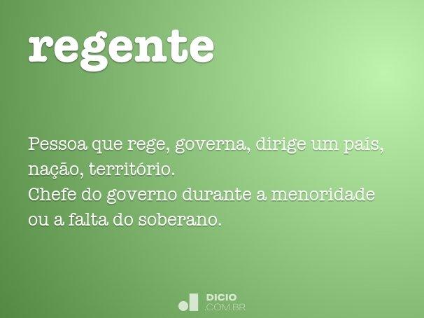 regente