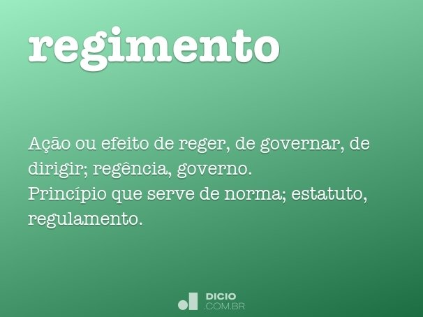 regimento