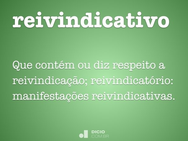 reivindicativo