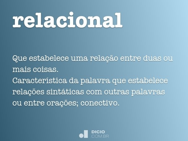 relacional