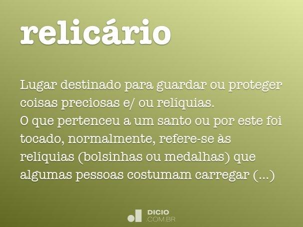 relic�rio