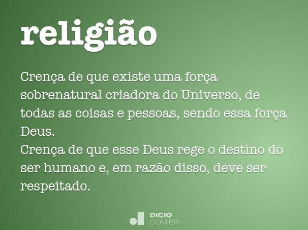 religi�o
