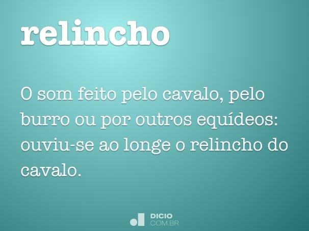 relincho