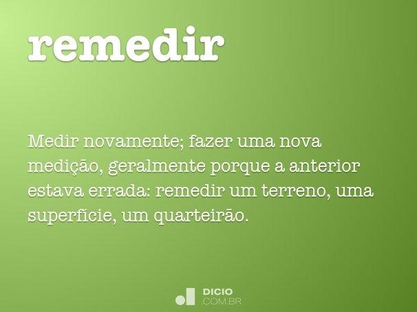 remedir