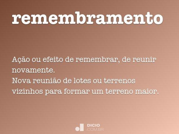 remembramento