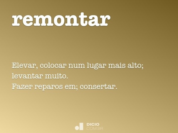 remontar