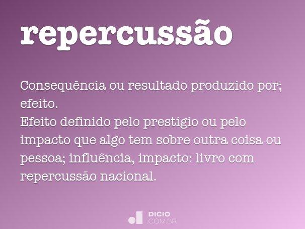 repercuss�o