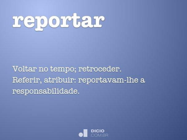 reportar