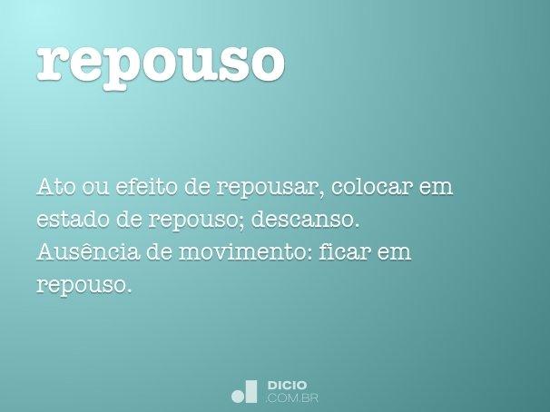 repouso