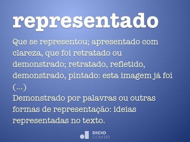 representado