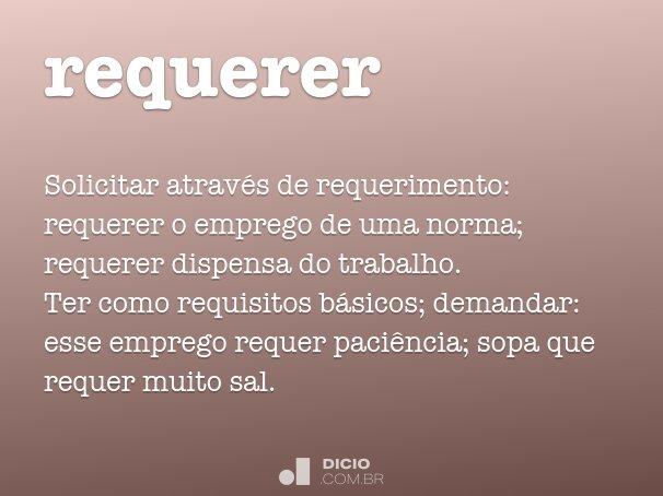 requerer