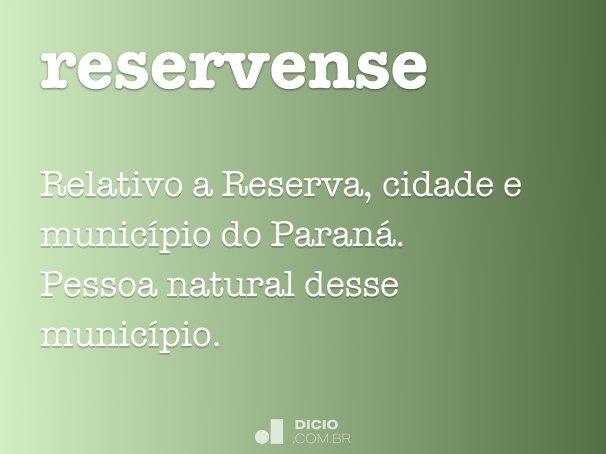 reservense