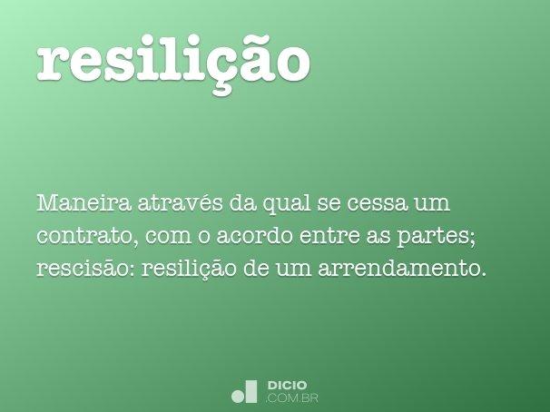 resili��o