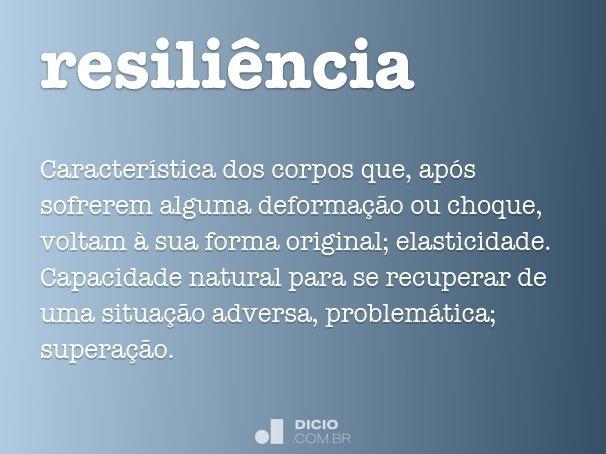 resili�ncia