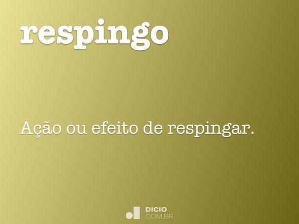 respingo