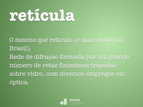 ret�cula