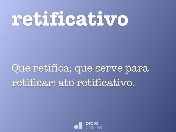 retificativo