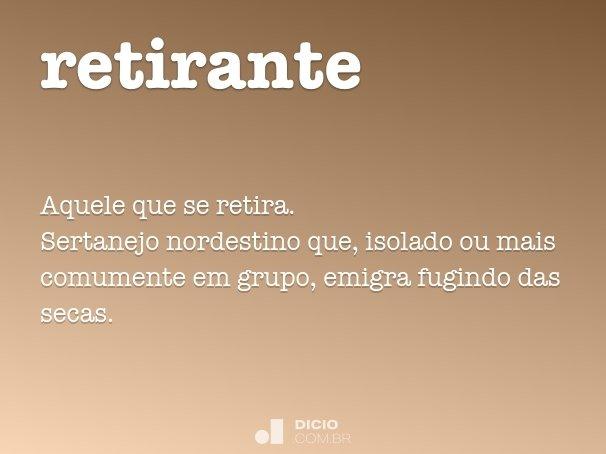 retirante