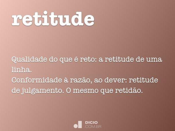 retitude