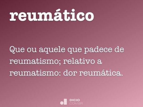 reum�tico