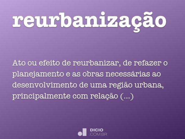 reurbaniza��o
