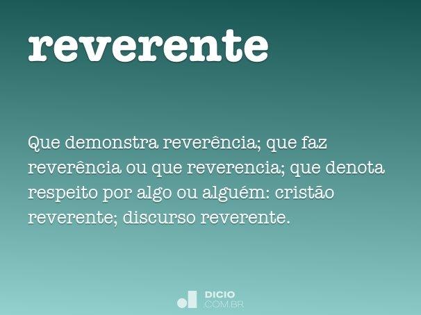 reverente
