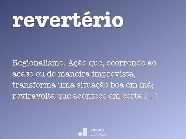 revert�rio