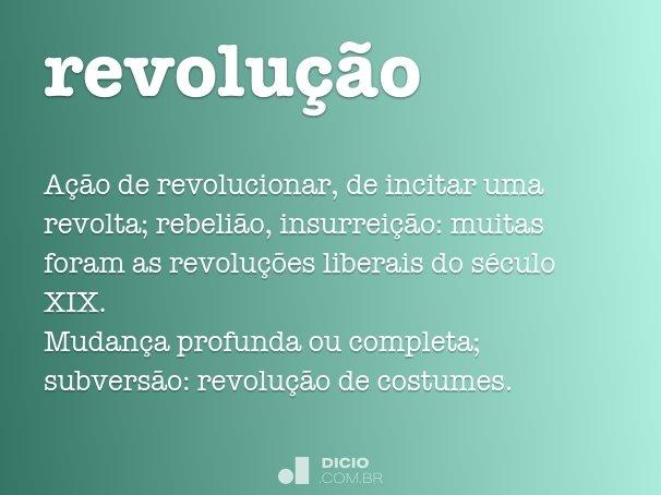 revolu��o