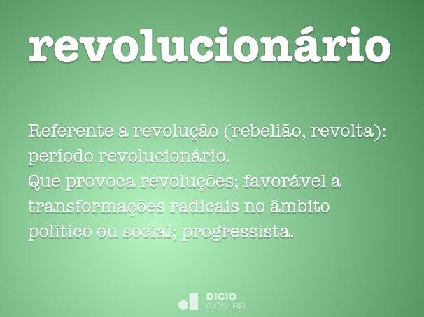 revolucion�rio