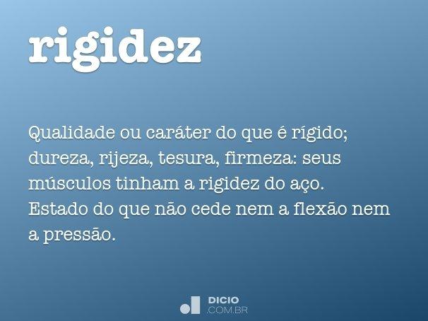 rigidez