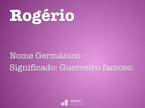 Rog�rio