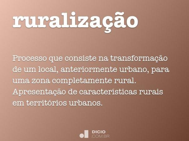 ruralização