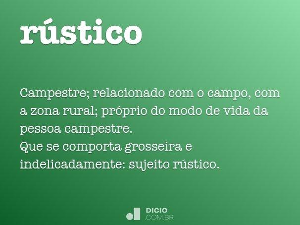 r�stico