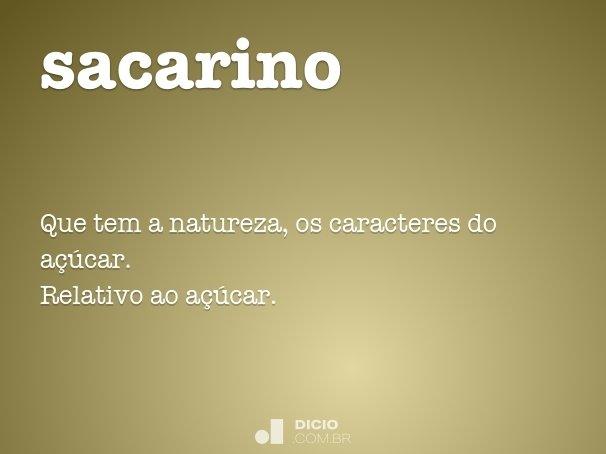 sacarino