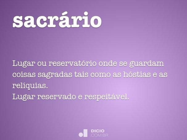 sacr�rio