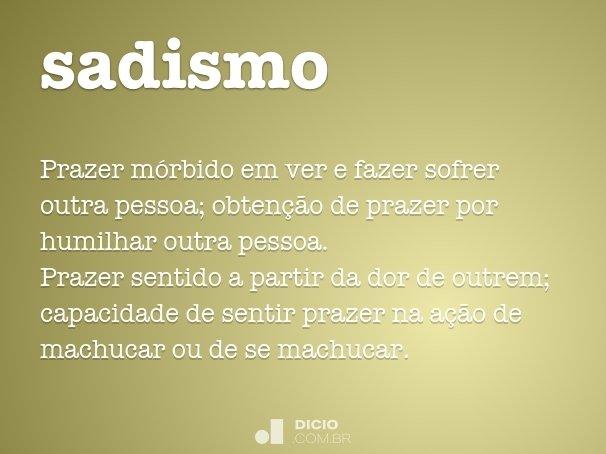 sadismo