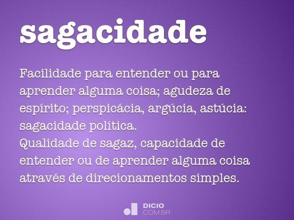sagacidade
